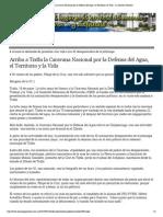 19-05-15 Arriba a Tixtla La Caravana Nacional Por La Defensa Del Agua, El Territorio y La Vida