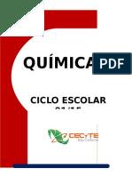 Carpeta de Evidencias Quimica II 3er Parcial