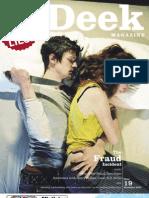 Deek Magazine #19 - The Fraud Incident