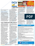 Pharmacy Daily for Thu 28 May 2015 - New AMA pharmacist plan, TWC purchases Chemplus, Ley's 'balanced' PBS reform, Wholesalers say 6CPA 'missed opportunity' and much more