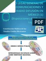 Marco Legal General de Las Telecomunicaciones y La