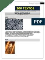 200 Textos Para Algunos Dias Del Ano de Eduardo Noro