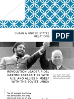 cuba & united states relations