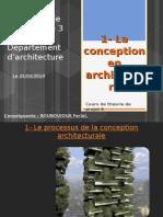 1- La Conception en Architecture