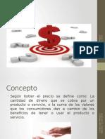 Presentación Precio mercadotecnia