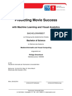 Predicting Movie Success Wtih Machine Learning and Visual Analytics