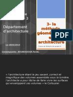 3- la methode géométrique en architecture .pps