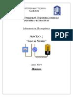 Leyes de Faraday Práctica 2