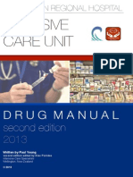 Wellington ICU Drug Manual 2013