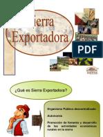 sierra exportadora.ppt