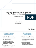 Economic Action and Social Structure