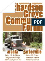 Richardson Grove Community Forum