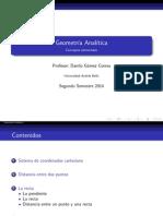 Geometria Analitica Parte I