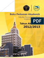 Buku Pedoman Akademik 2012/2013 FEB Universitas Brawijaya