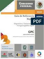 Faringoamigdalitis Guía de Referencia Rápida CENETEC