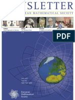 Newsletter of the European Mathematical Society