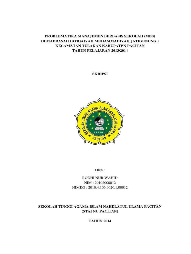 skripsi ekonomi islam kualitatif pdf