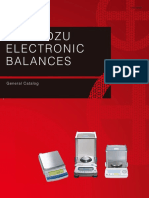 Shimadzu Electronic Balances_catalogue