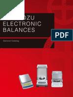 Shimadzu Electronic Balances_catalogue