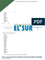 23-05-15 Que se vayan de Guerrero los líderes nacionales del PRD, dice Astudillo _ El Sur de Acapulco I Periódico de Guerrero