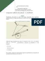 Tarea Mecanismo Analisis de Fuerzas