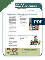 Producto 10 . Competencias Profesionales Docentes