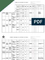 Formato Panorama de Factores de Riesgo