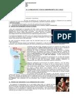 Gua Conquista y Descubrimiento de Chile