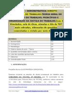 Aula 00 TRTMG Bruno Klippel Processo Do Trabalho Teoria e Questões AJAJ E of JUST