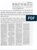 El Mercurio, Biografia FSM 20-12-1931