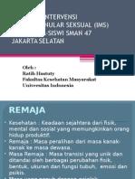 Presentasi Materi IMS