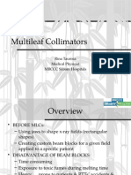 Multileaf Collimator