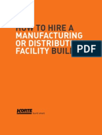 Manufacturing Distribution Facility Builder