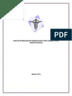 Guía de Esterilización Generalizada Para Consultorios Odontológicos