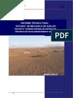 Estudio de Suelos Tacna
