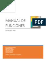 Manual de Funciones. Cocou