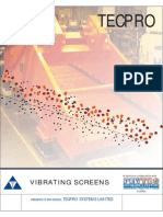 Vibrating Screens