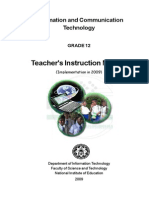 12 ICT Teacher Manual English