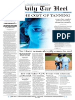 The Daily Tar Heel for May 28, 2015