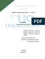 Relatorio Setor de Urina.doc