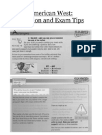 American West - Revision and Exam Tips
