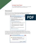 Configuración de Adobe Flash Player (Parcial 3)