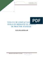 Informe de Proctor Modificado