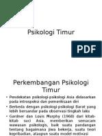 PPT 13 Psikologi Timur