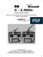 Manual Futaba 10C Port