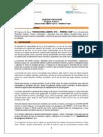 Bases Convocatoria Abierta 2015 Primera Fase