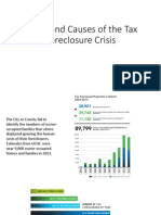 Scope and Causes of the Tax Foreclosure Crisis