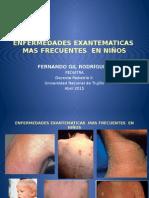 Enfermedades Exantematicas Mas Frecuentes en Niños. 2015.Pptx 2