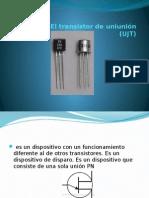 El transistor de uniunión(UJT)