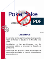 Poka Yoke Dispositivos a Prueba de Error